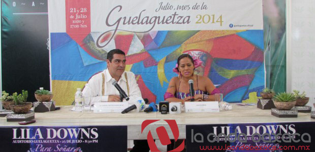 Video: Lila Downs en concierto, Auditorio Guelaguetza 25 de julio, 20:30 hrs