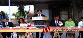 VIDEO: Los príncipes #Akishino y Kiko, Altesas imperiales de #Japón, visitan #Oaxaca @GobOax
